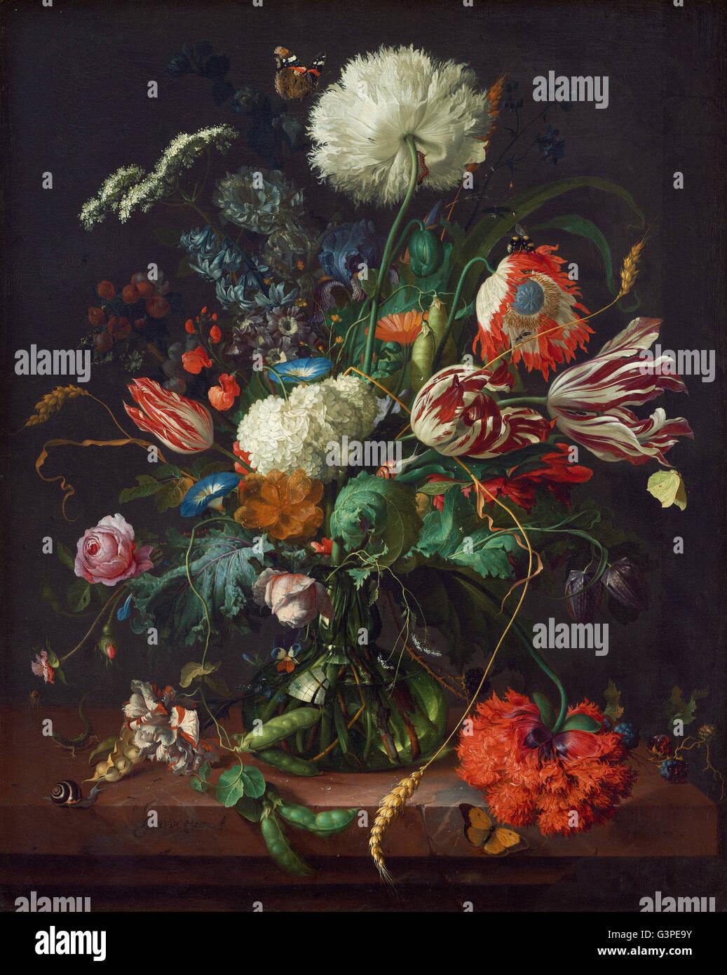 Jan Davidsz de Heem - Vaso di fiori - National Gallery of Art di Washington DC Foto Stock