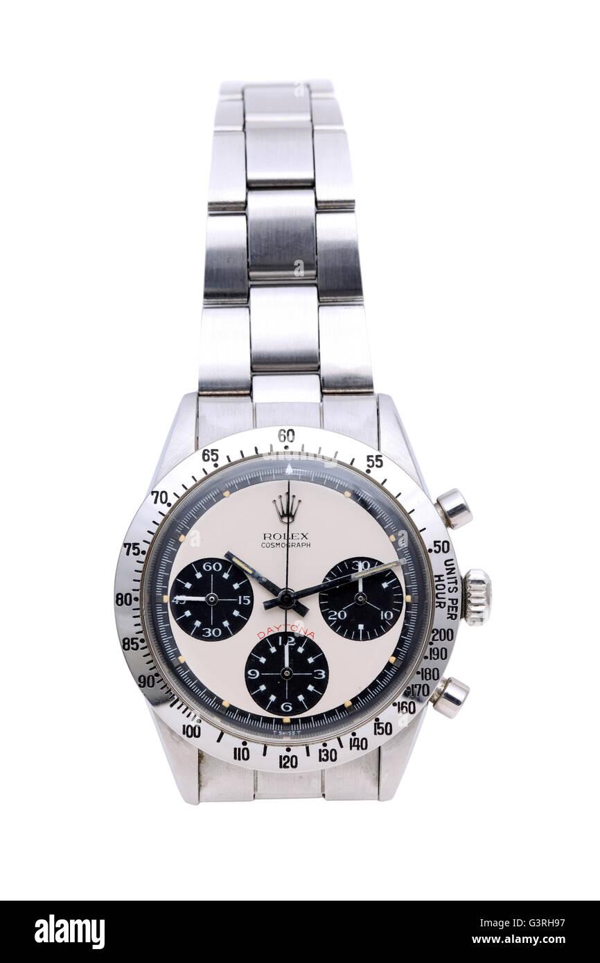 169248077ce0fb 'Rolex Daytona Cosmograph' vintage orologio da polso in una finestra di  visualizzazione di vintage '