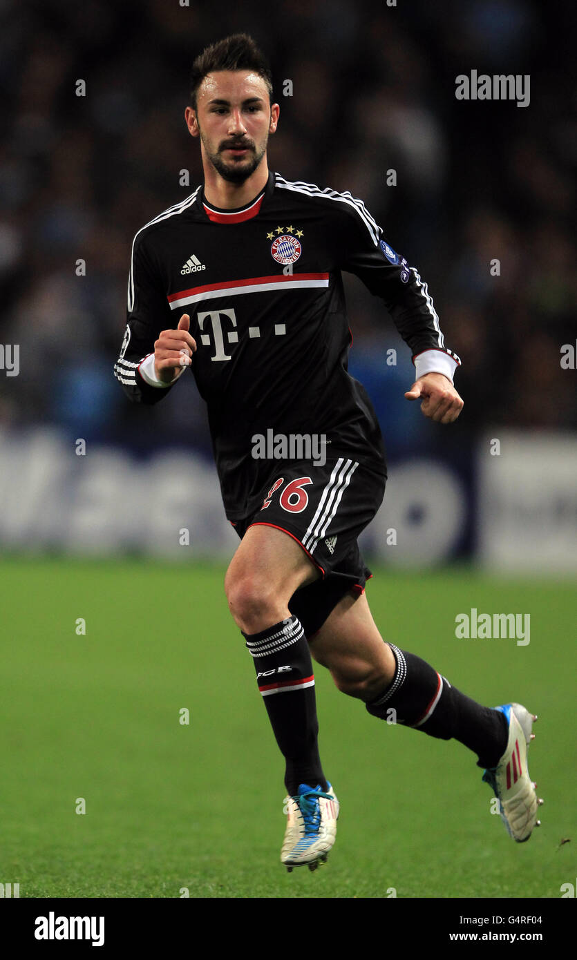 Soccer - UEFA Champions League - Gruppo A - Manchester City v Bayern Munich - Etihad Stadium Immagini Stock