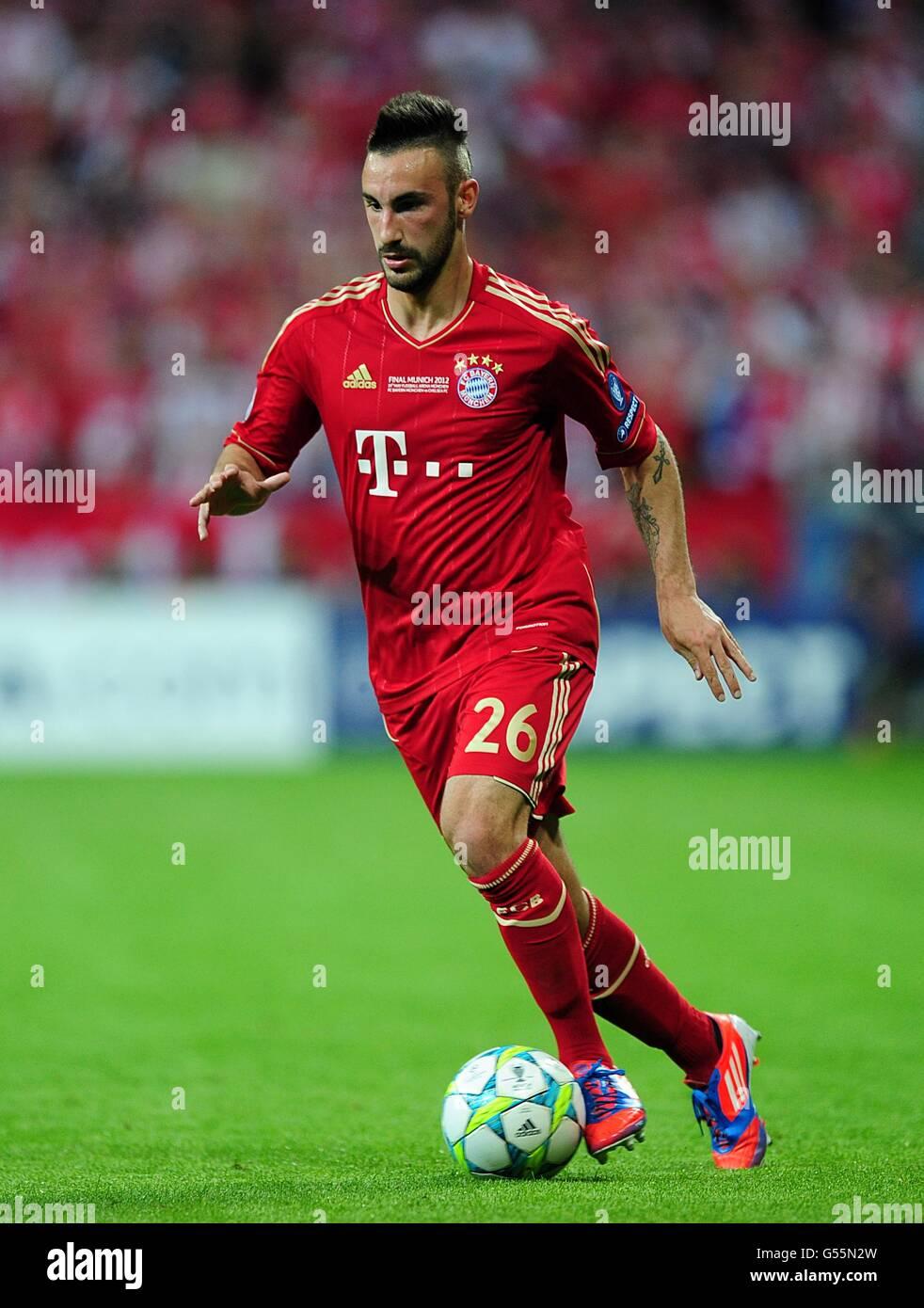 Soccer - UEFA Champions League - finale - Bayern Munich v Chelsea - Allianz Arena Immagini Stock