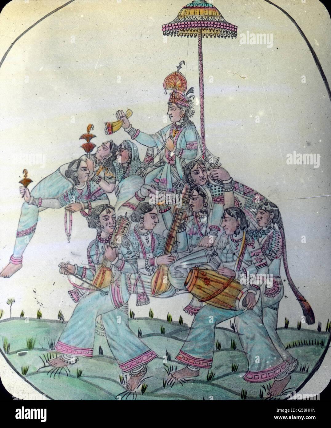 Hinduismus-Hauptfigur: Krishna Indien, India, Asia Travel, Hinduismn, religione, convinzioni personali, uomo, Dio, Immagini Stock