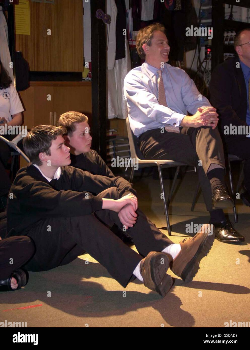 Elezioni generali di Blair Foto Stock
