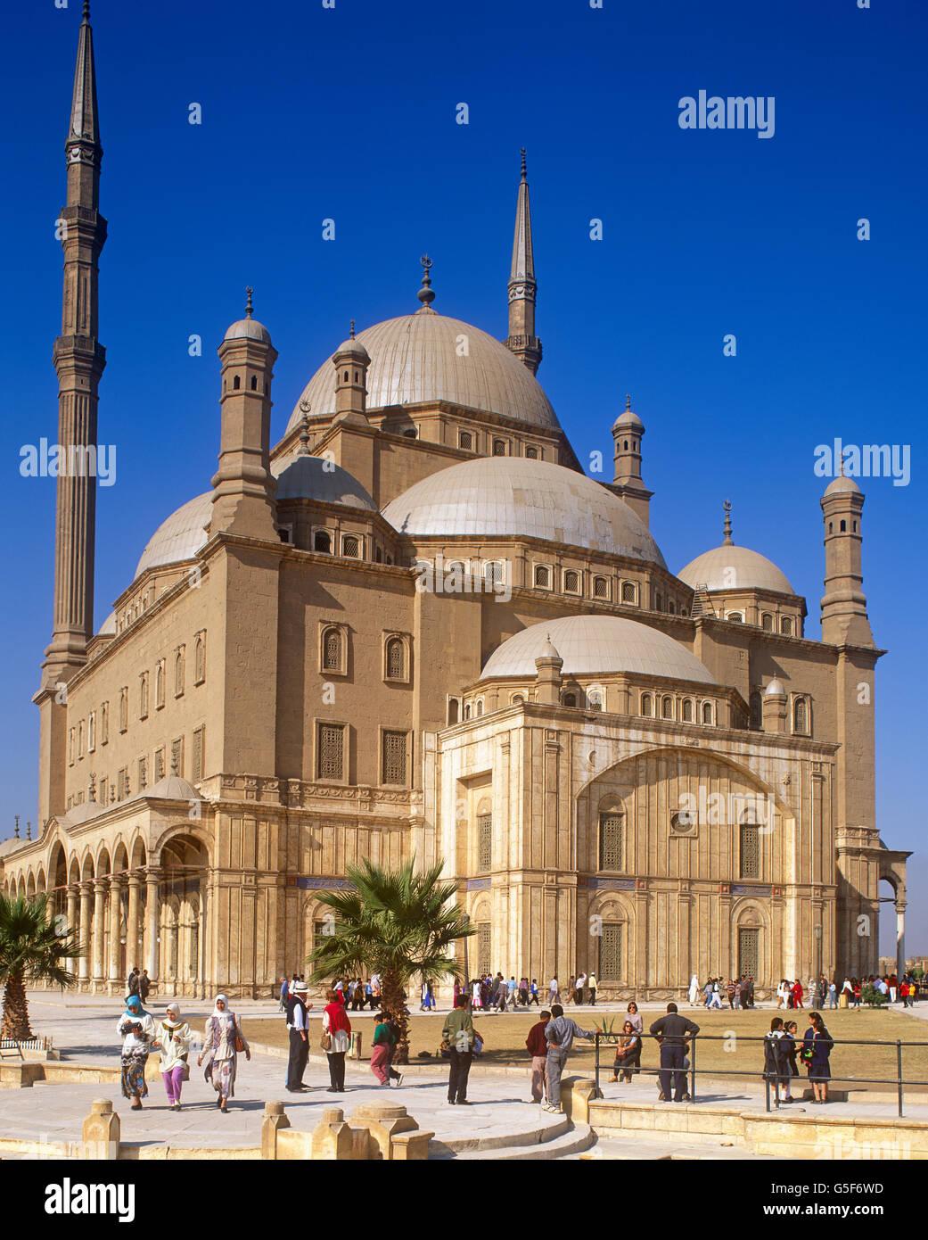 Muhammed Ali moschea, Il Cairo, Egitto Immagini Stock