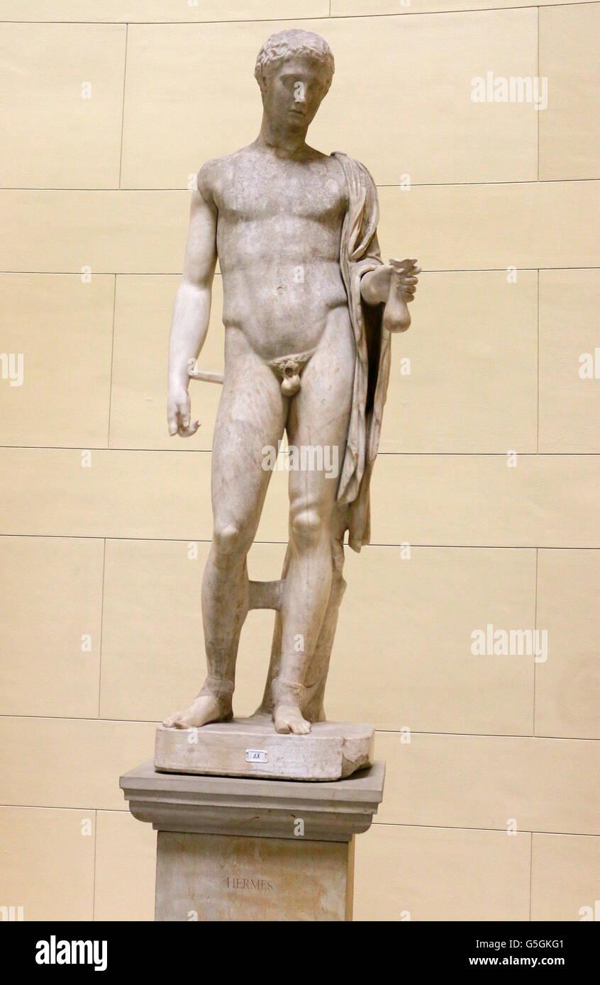 Skulptur/ Bueste: Hermes, Berlino. Immagini Stock