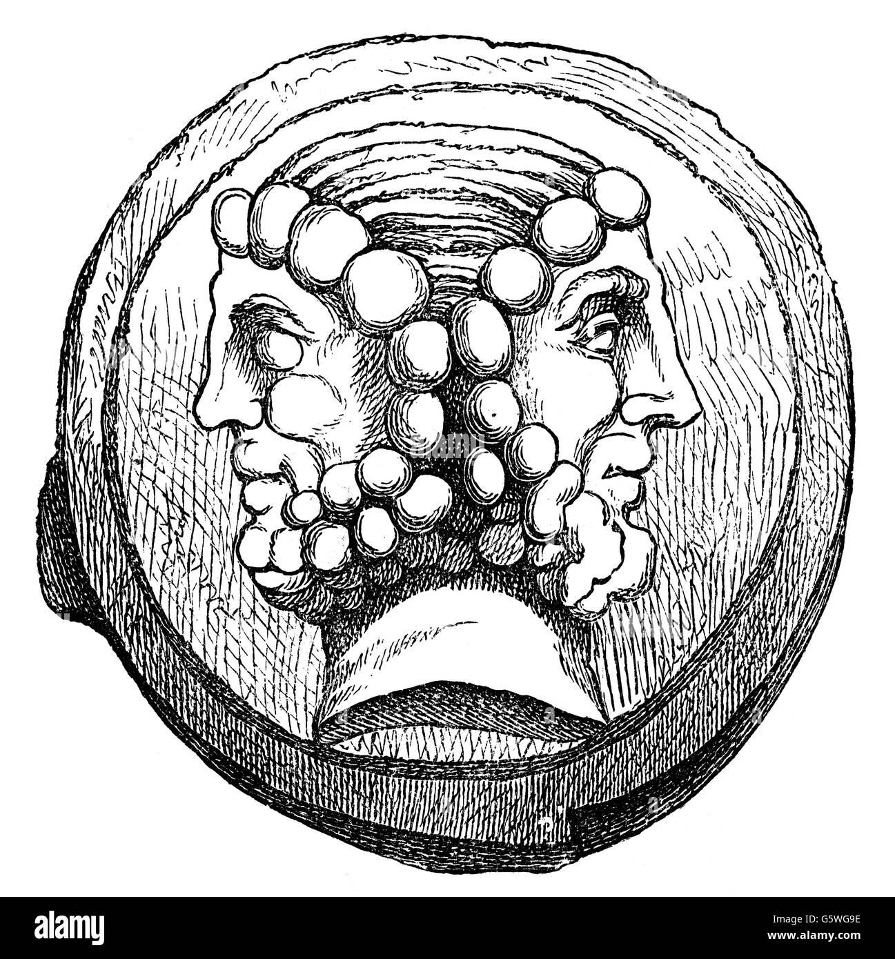 c9eefcd220 Il denaro / Finanze, monete, mondo antico impero romano, come  complementare, ritratto