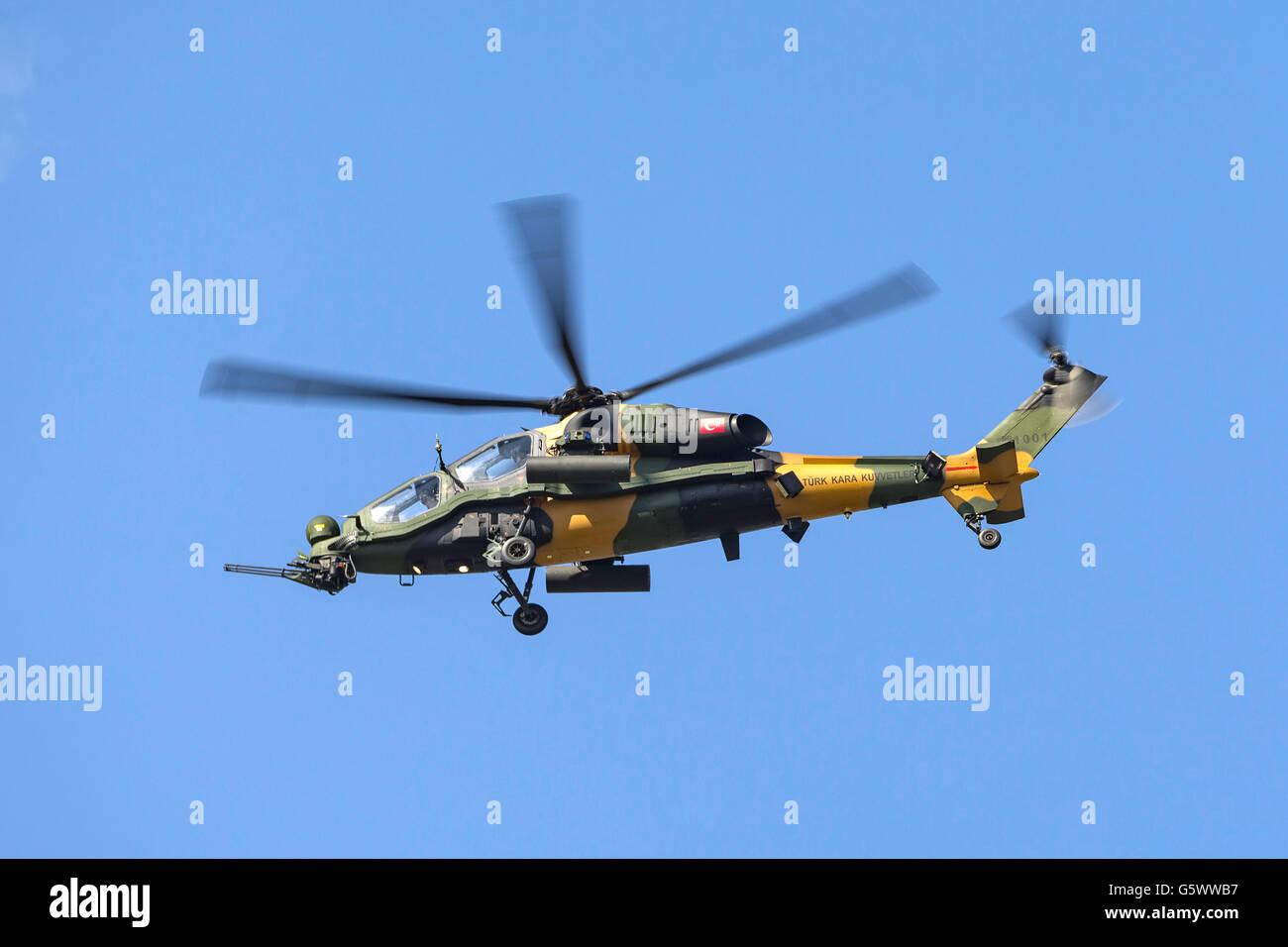 Elicottero T 129 : Esercito turco türk kara kuvvetleri tai agustawestland t129