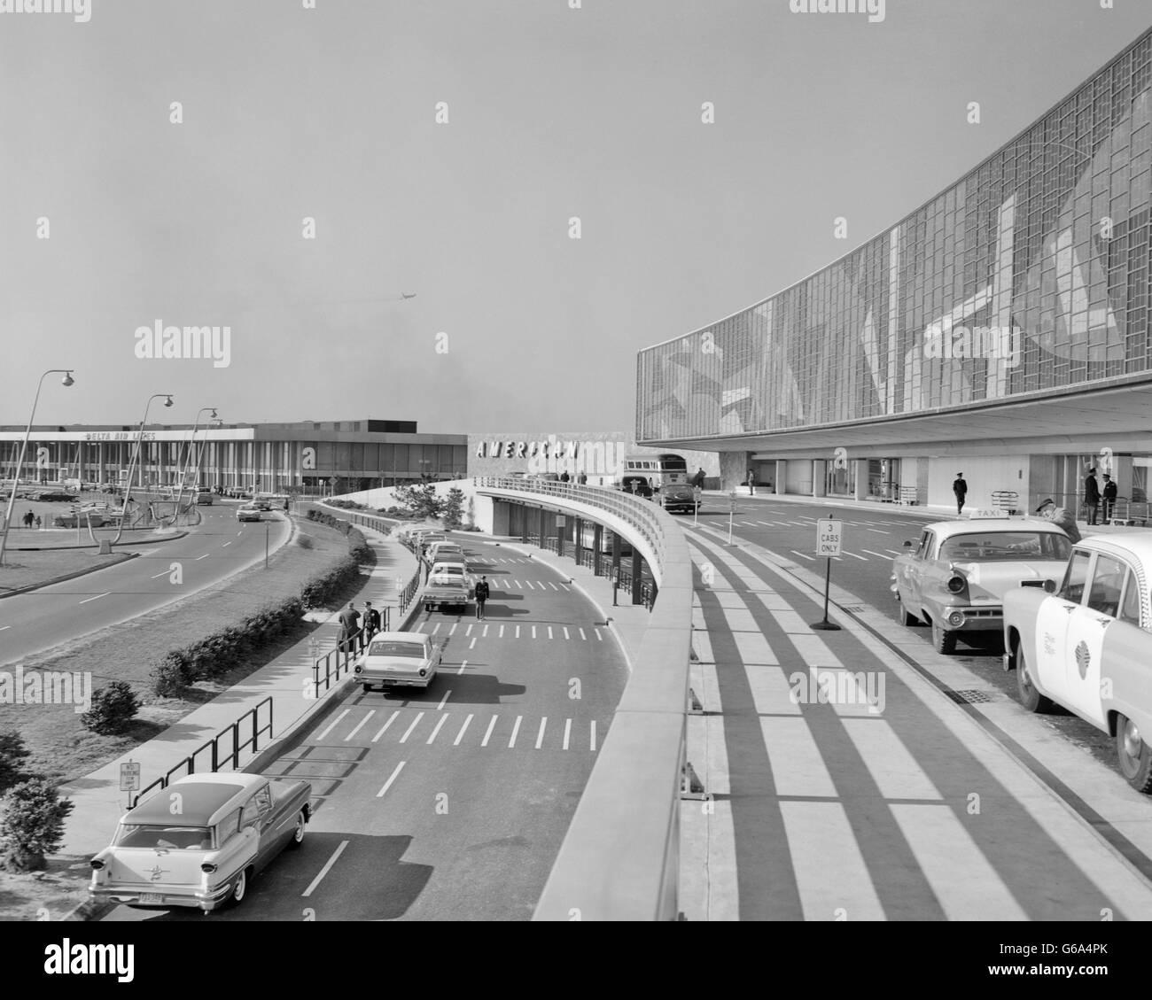 Aeroporto Jfk : Anni sessanta american airlines terminale jet edoardo vianello ora