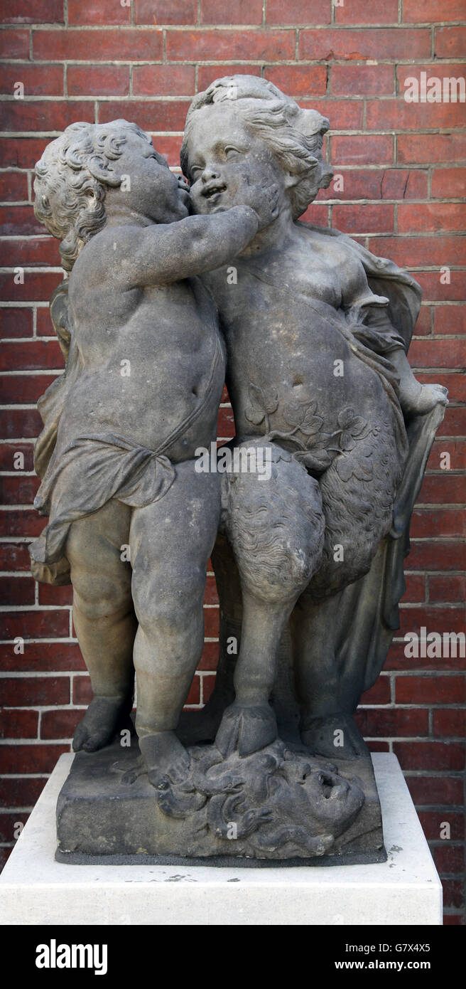 Amore e Odio Jan Pieter van Baurscheit 1669-1728 Immagini Stock
