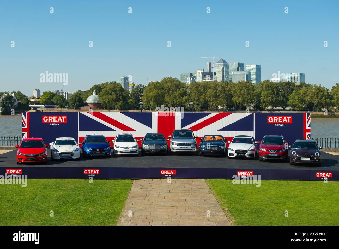 Frankfurt International Motor Show Immagini Stock