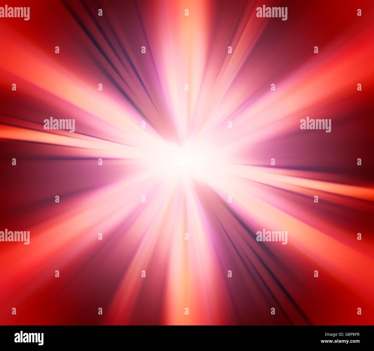 Abstract Rosso Magenta Sfondo Di Esplosione Foto Immagine Stock