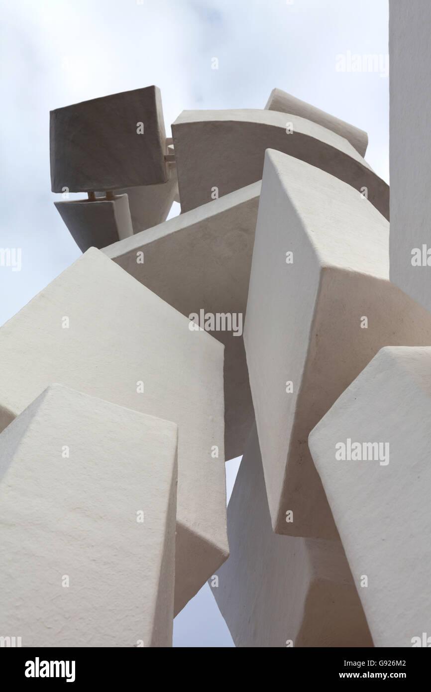 Monumento al Campesino e la Casa-Museo del Campesino Lanzarote Immagini Stock