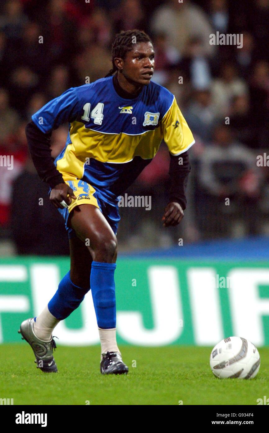 Calcio - amichevole internazionale - Repubblica democratica del Congo v  Tunisia - Stade Yves Du Manoir Foto stock - Alamy