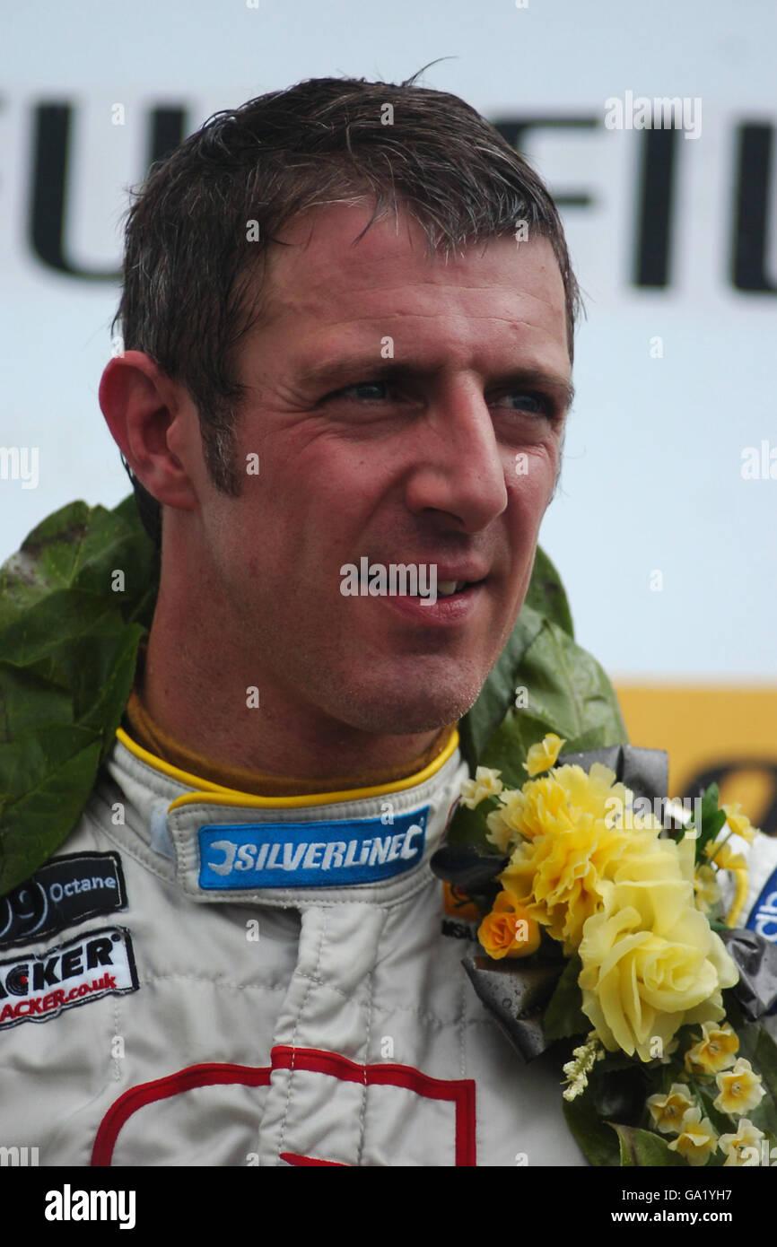 Motor Sport - Dunlop British Touring Car Championship - Donington Park Immagini Stock