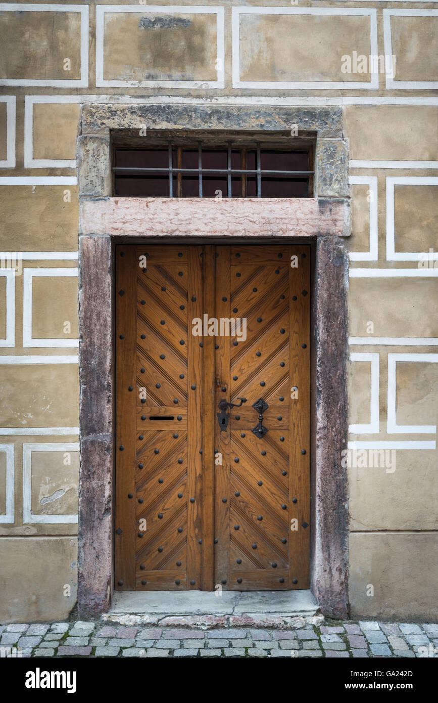 Foto Di Porte Antiche porte antiche di praga, repubblica ceca foto stock - alamy