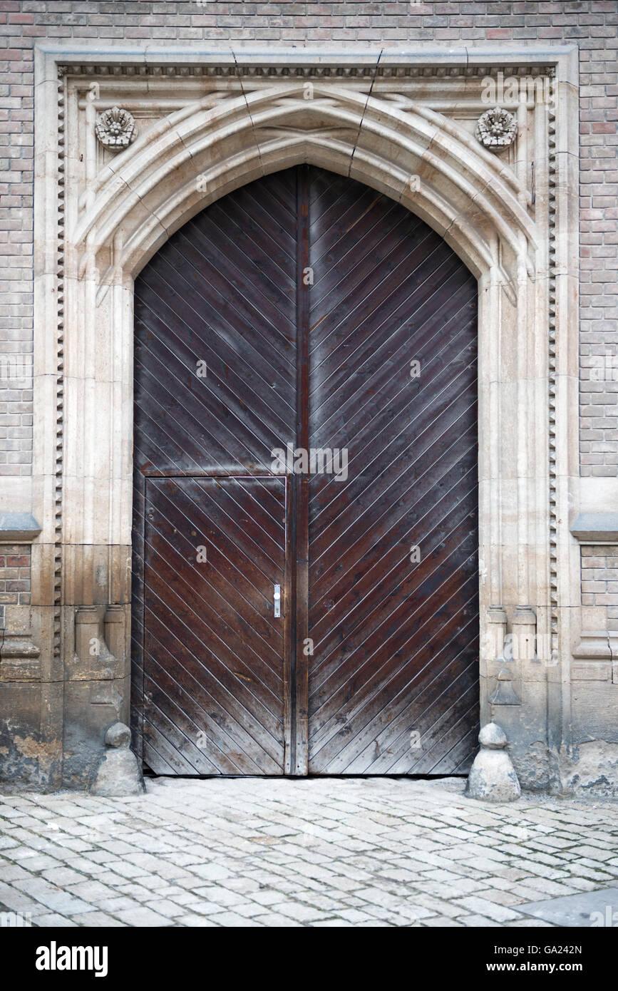 Foto Di Porte Antiche porte antiche di praga, repubblica ceca foto & immagine