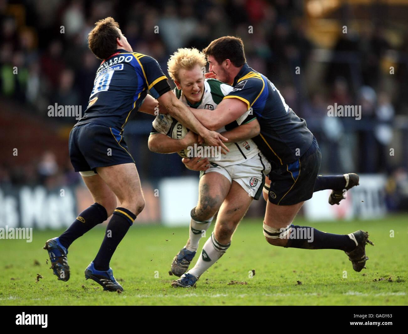 Rugby Union - Guinness Premiership - Leeds Carnegie v London Irish - Headingley Stadium Foto Stock