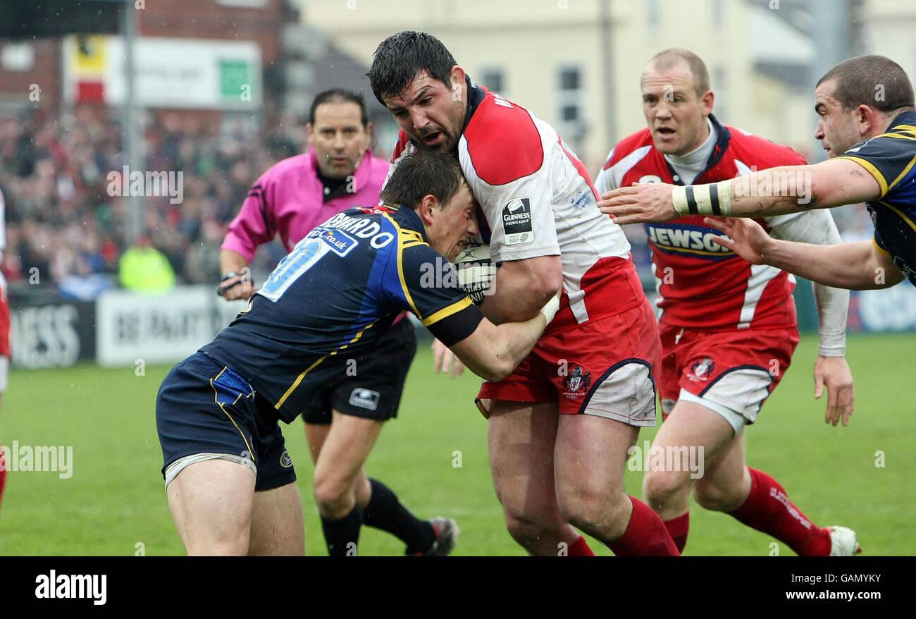 Rugby Union - Guinness Premiership - Gloucester v Leeds Carnegie - Kingsholm Foto Stock