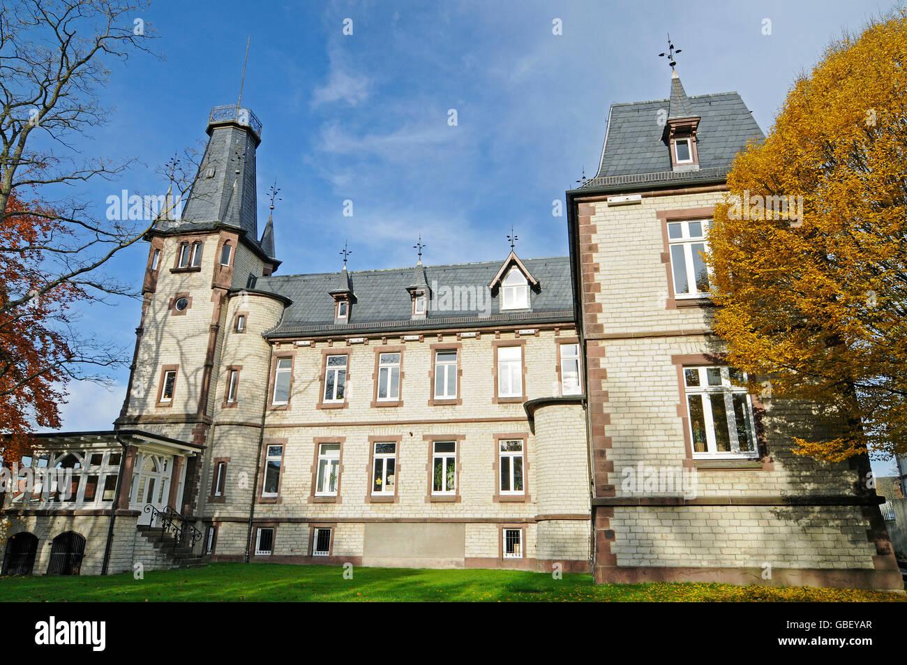 Il benessere della gioventù ufficio, edificio amministrativo, Beckum, Munsterland regione Renania settentrionale Immagini Stock