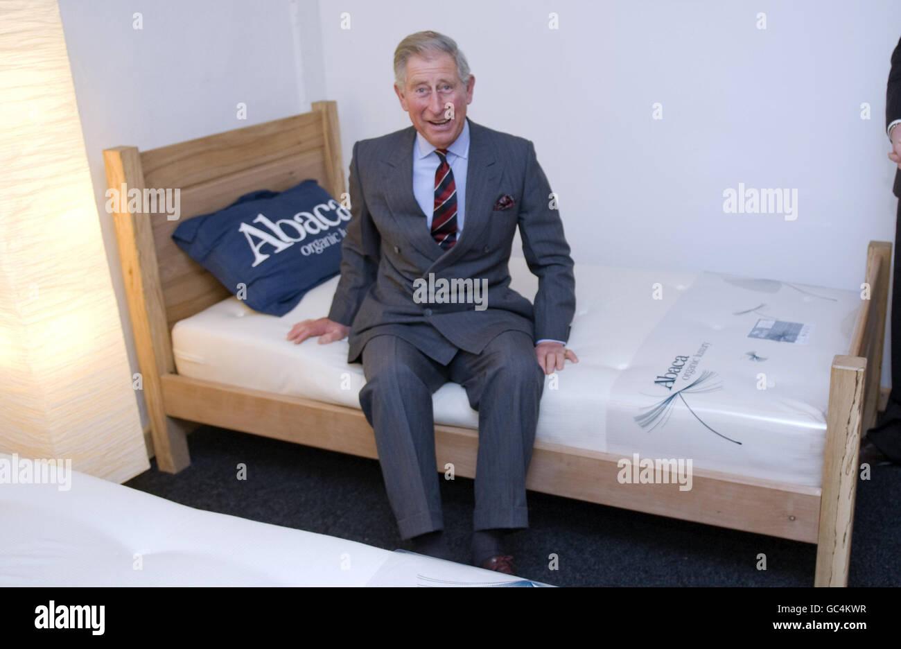 Il principe Charles in Galles Immagini Stock