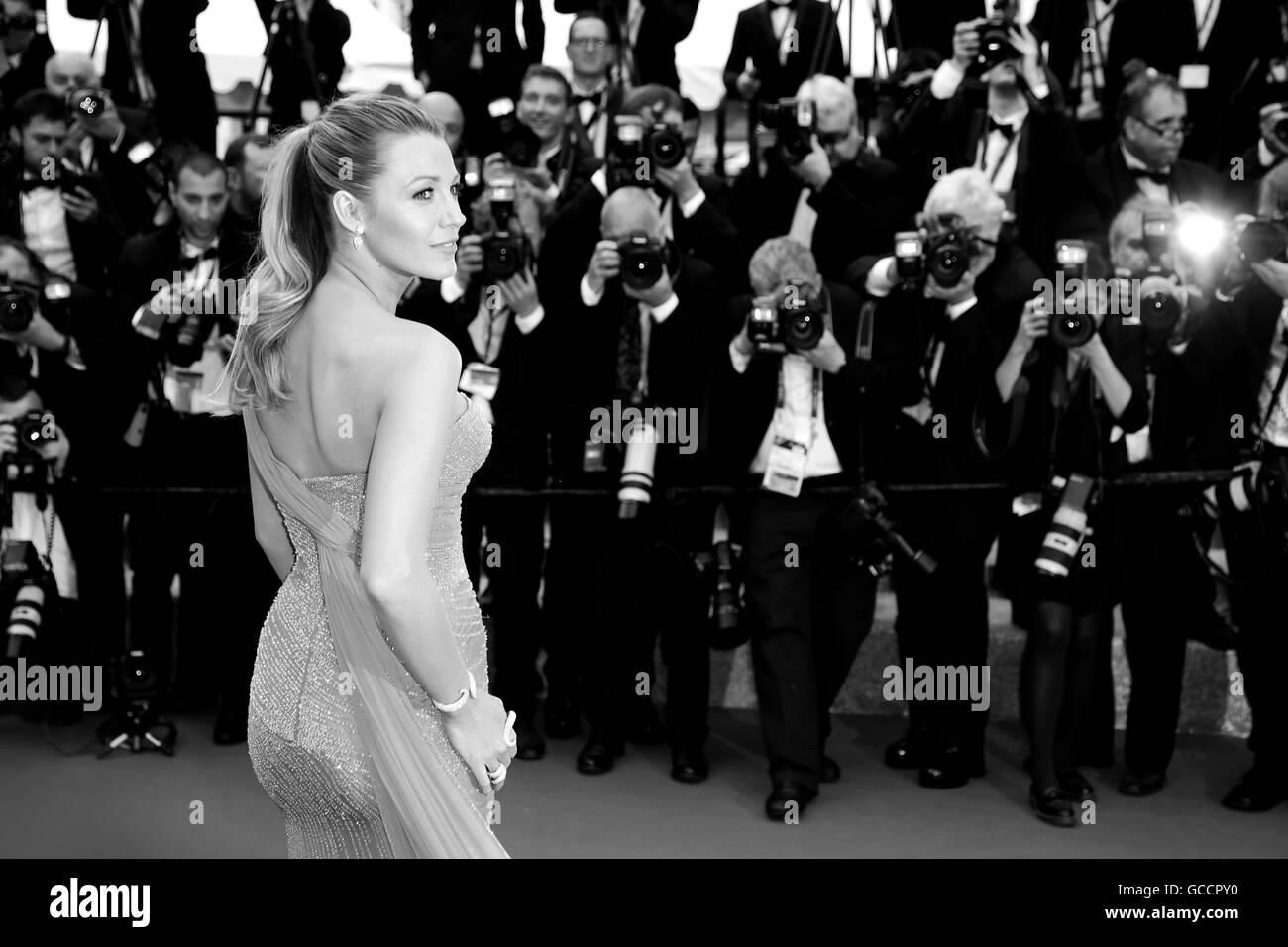 """CANNES, Francia - 14 Maggio: Blake Lively assiste """"BFG ' premiere durante la 69a Cannes Film Festival Immagini Stock"""