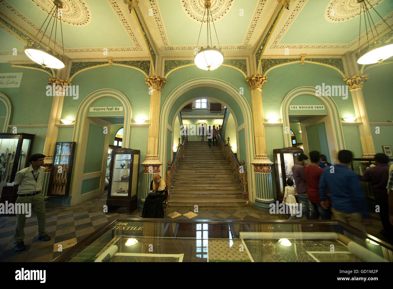 L'immagine di Bhau Daji Lad Museo fu preso in Mumbai, India Immagini Stock