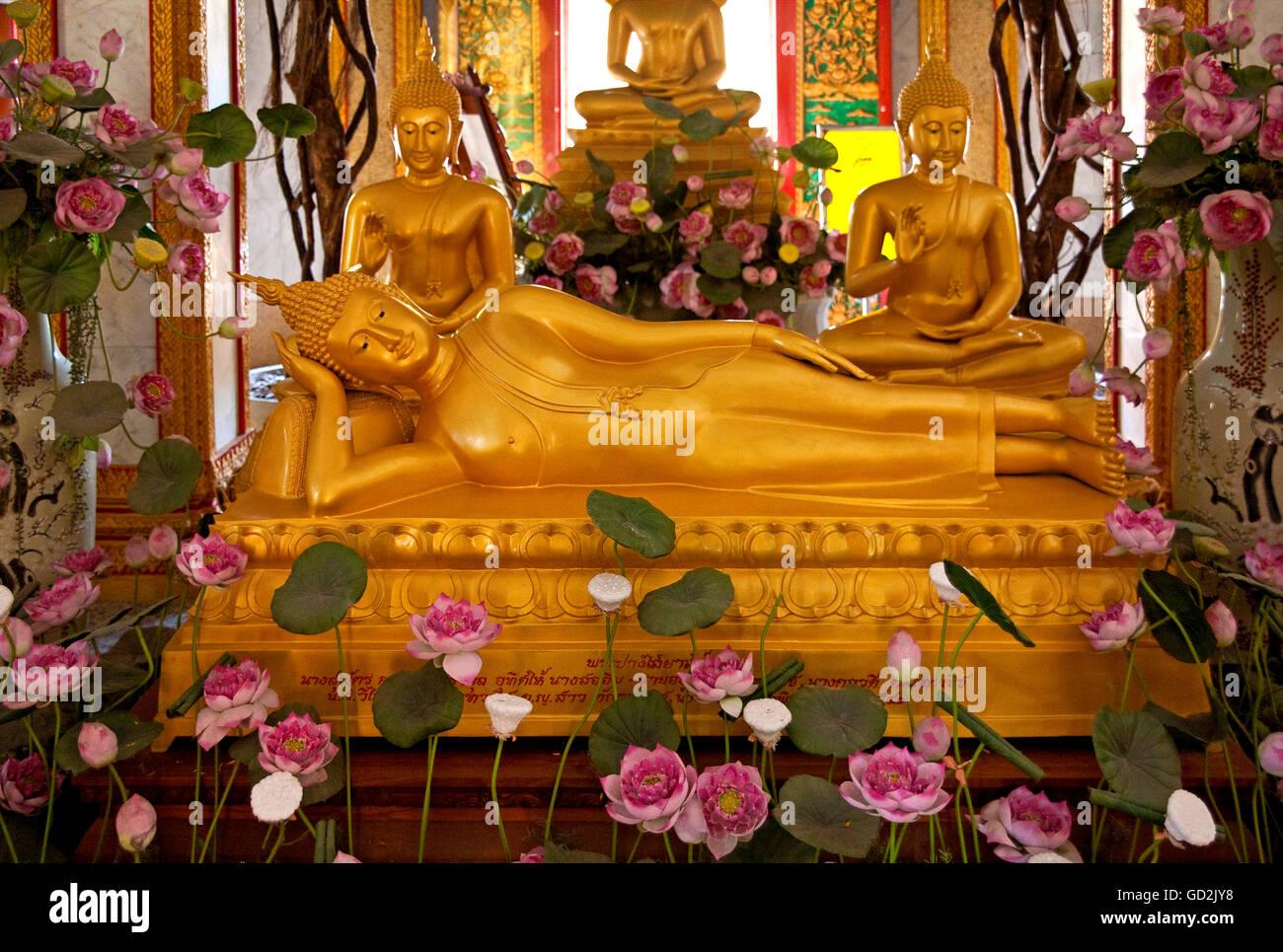 Belle arti, l'arte religiosa, Thailandia, Sud della Thailandia, artista del diritto d'autore non deve essere Immagini Stock