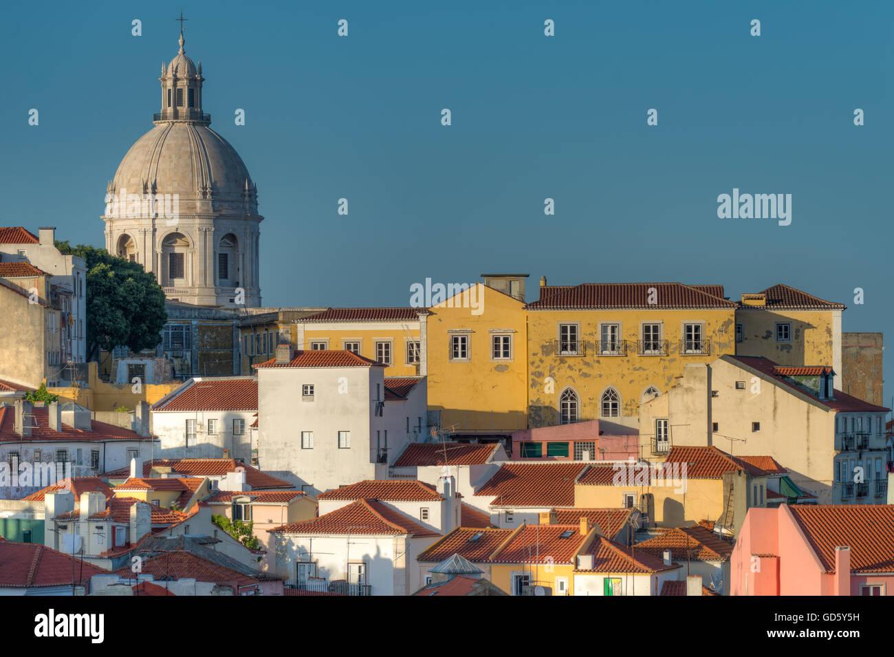 Quartiere di Alfama, Lisbona, Portogallo Foto Stock