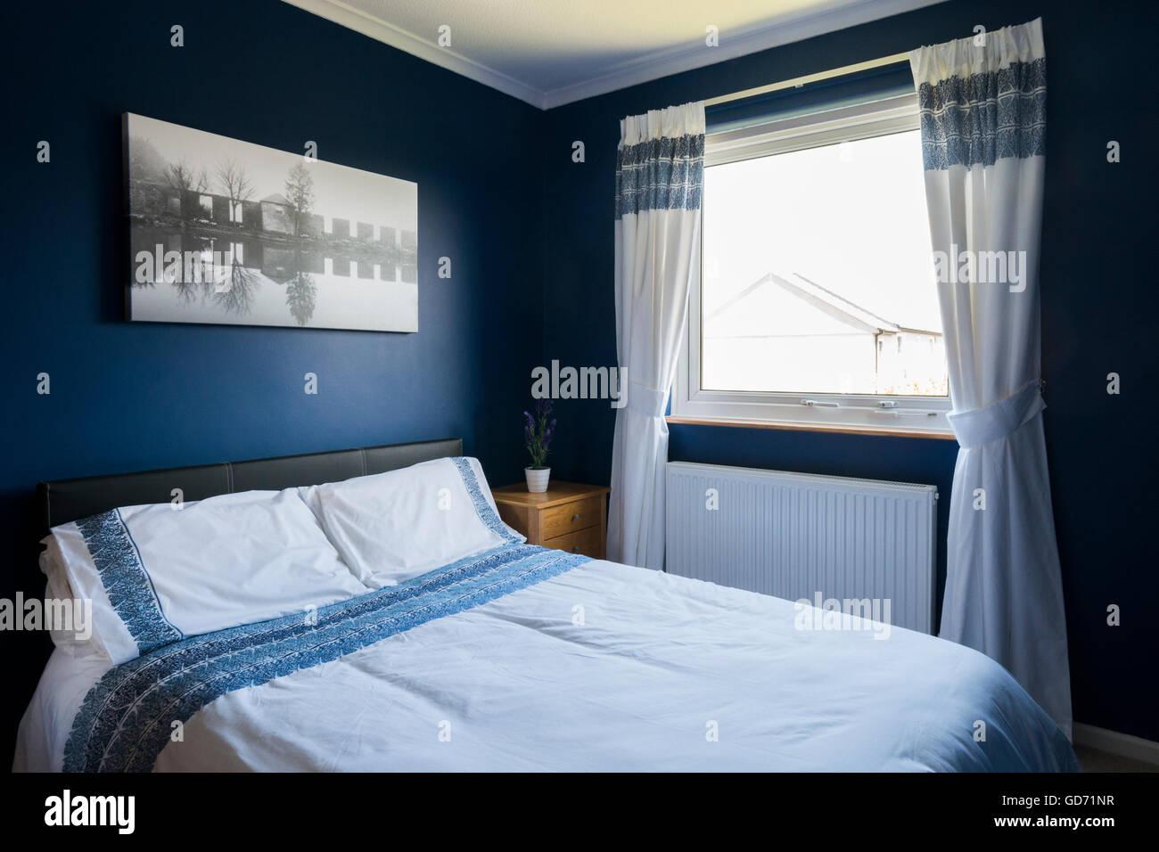 Camera Da Letto Blu Cobalto : Camera da letto blu immagini & camera da letto blu fotos stock alamy