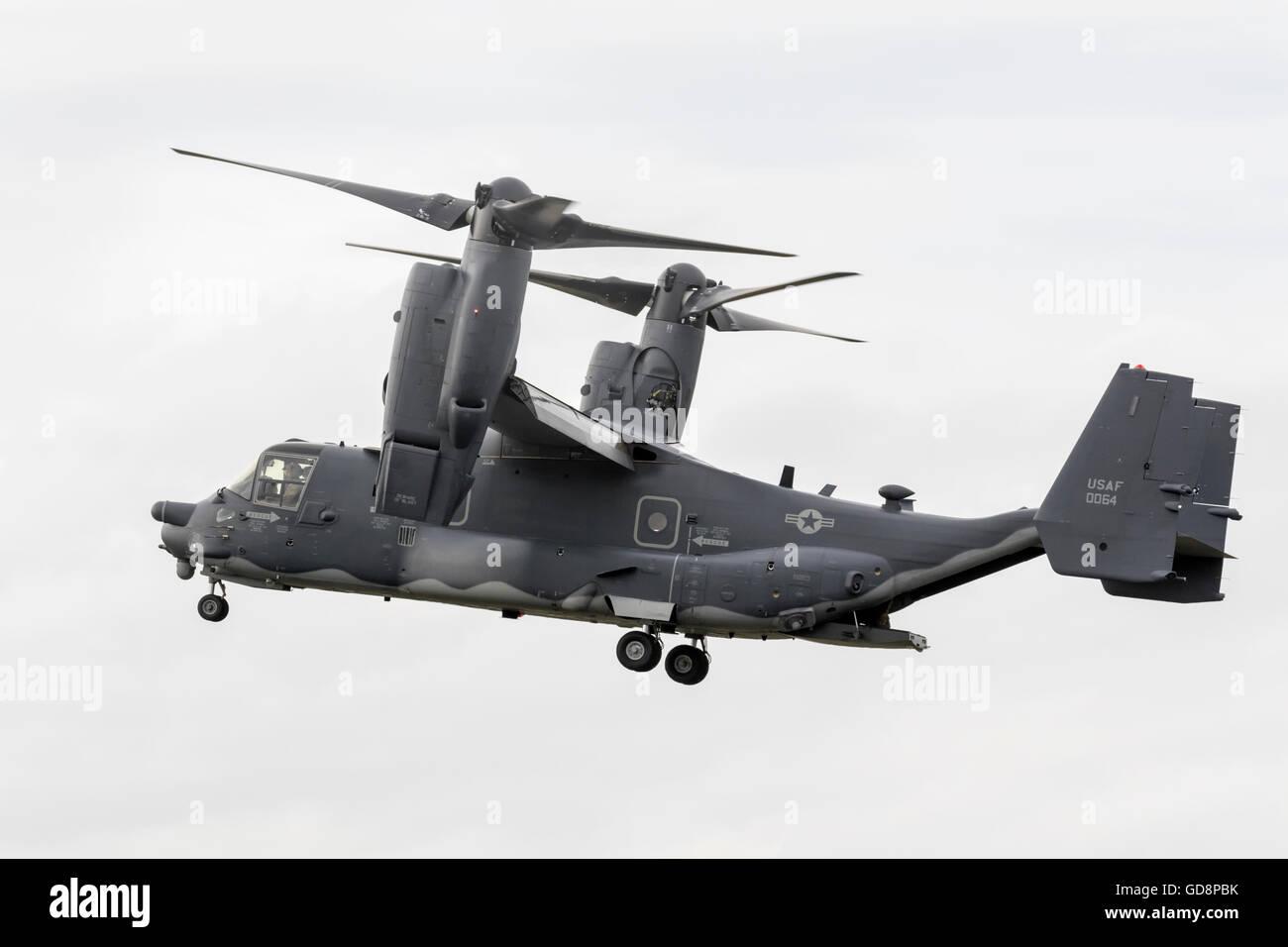 Boeing Bell MV22 Osprey di rotore inclinabile Immagini Stock