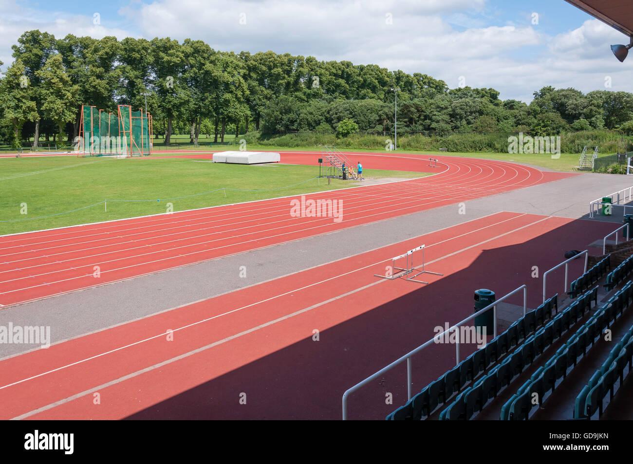 La Thames Valley centro atletico, Pococks Lane, Eton, Berkshire, Inghilterra, Regno Unito Immagini Stock