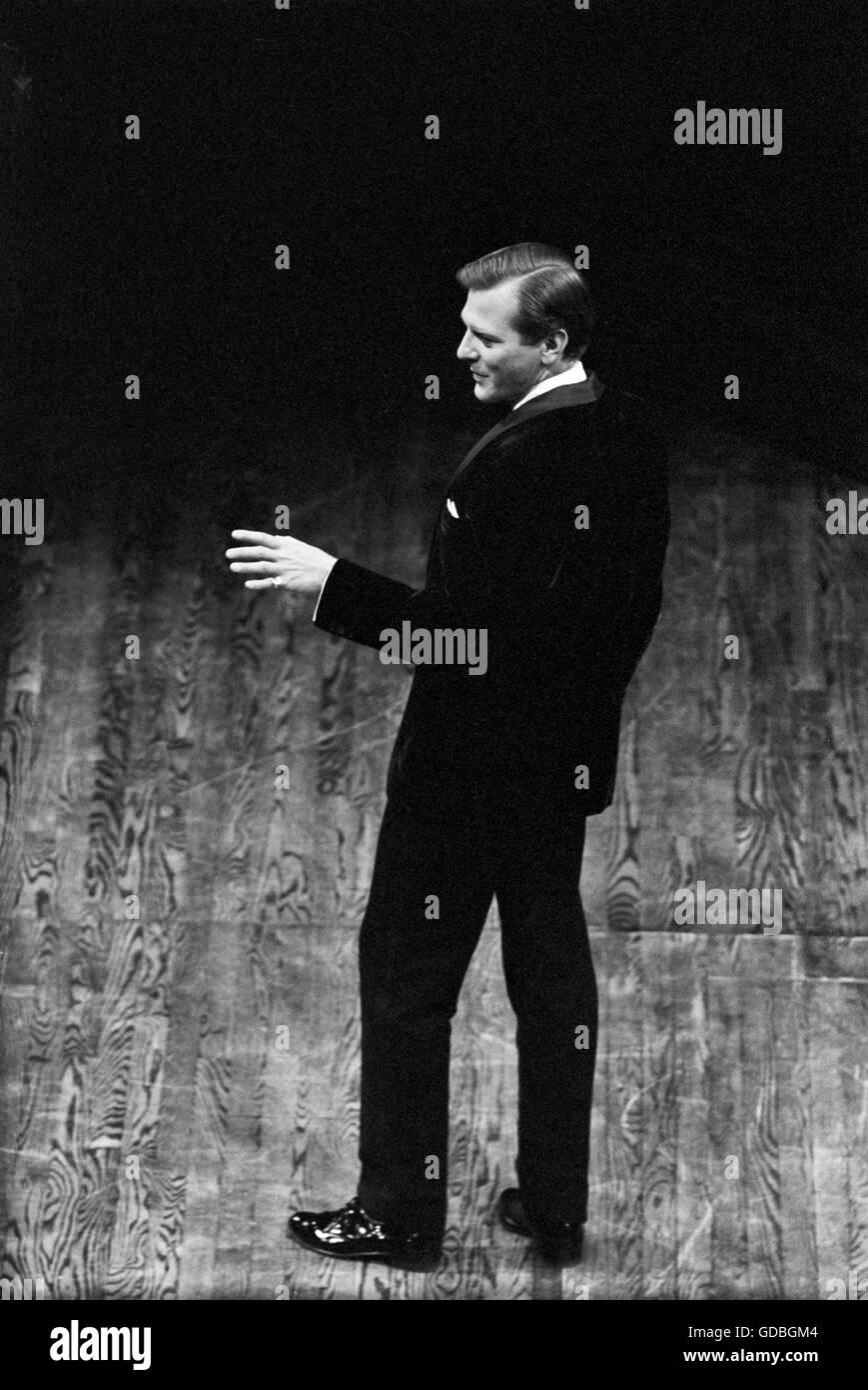 George Grizzard al Guthrie Theater Immagini Stock