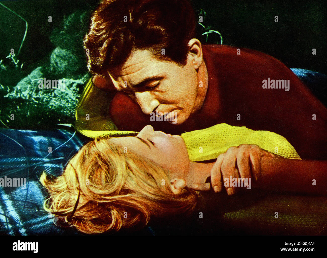 Una questione di morale, Schweden/STATI UNITI D'AMERICA 1961, Regie: John Cromwell, Darsteller: Patrick O'Neal, Immagini Stock