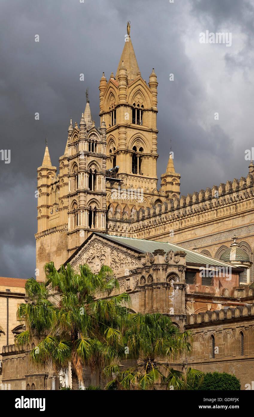 Cattedrale, Palermo, Sicilia, Italia Immagini Stock