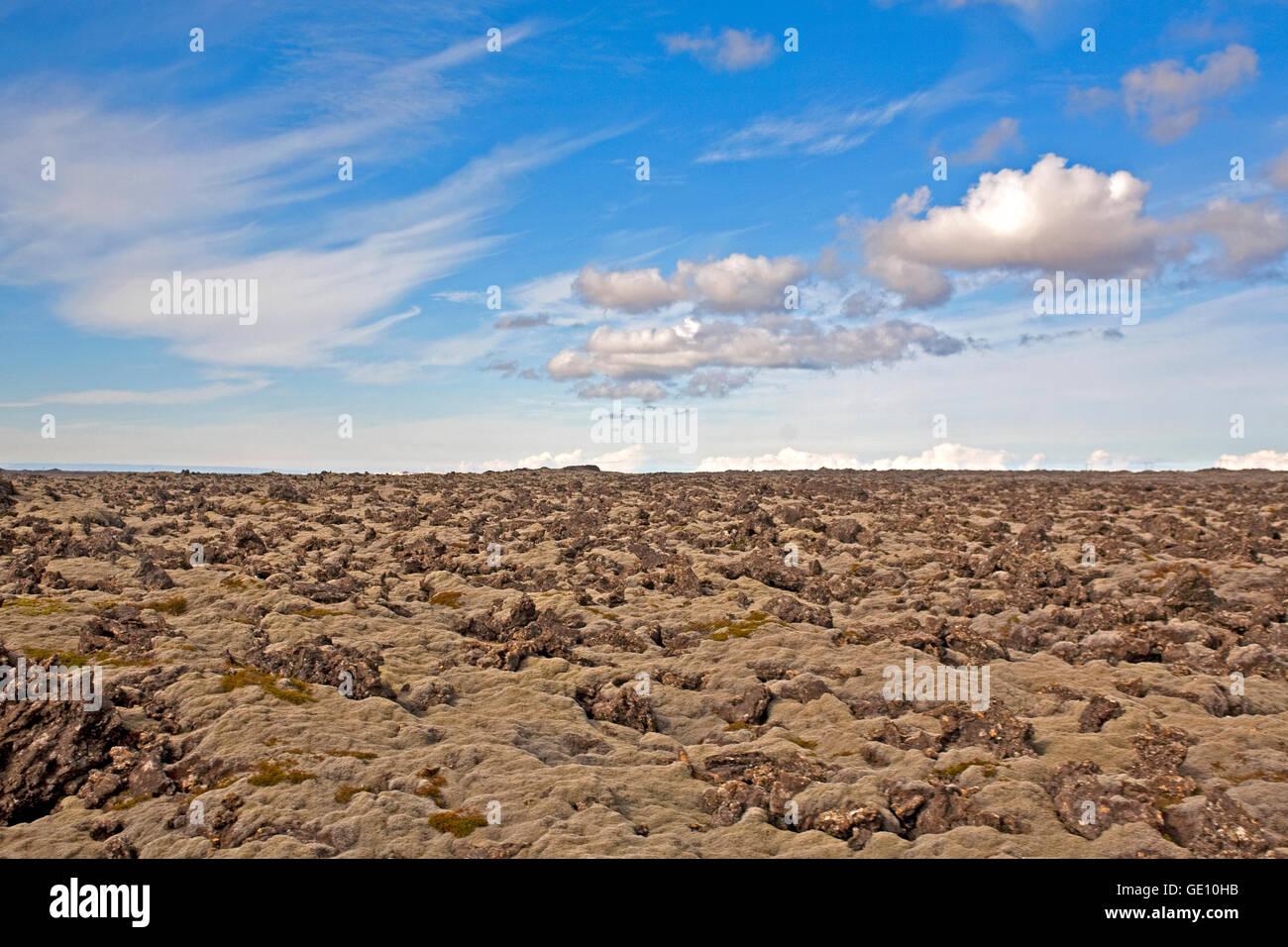 Geografia / viaggi, Islanda, paesaggi, pietra lavica, Additional-Rights-Clearance-Info-Not-Available Immagini Stock