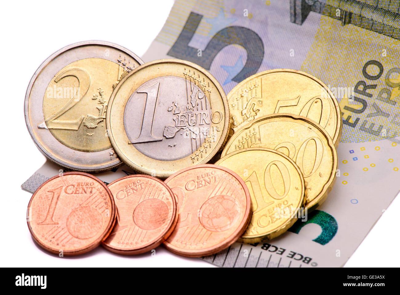 8,84 Euro salario minimo in Germania Foto Stock