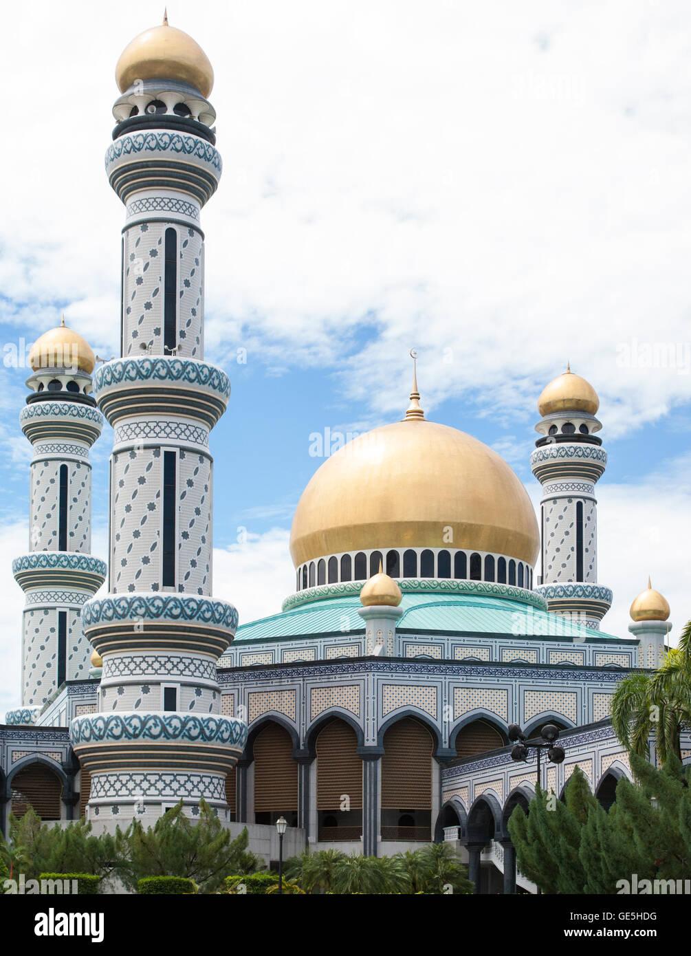 Palazzo in Bandar Seri Begawan, Brunei Immagini Stock