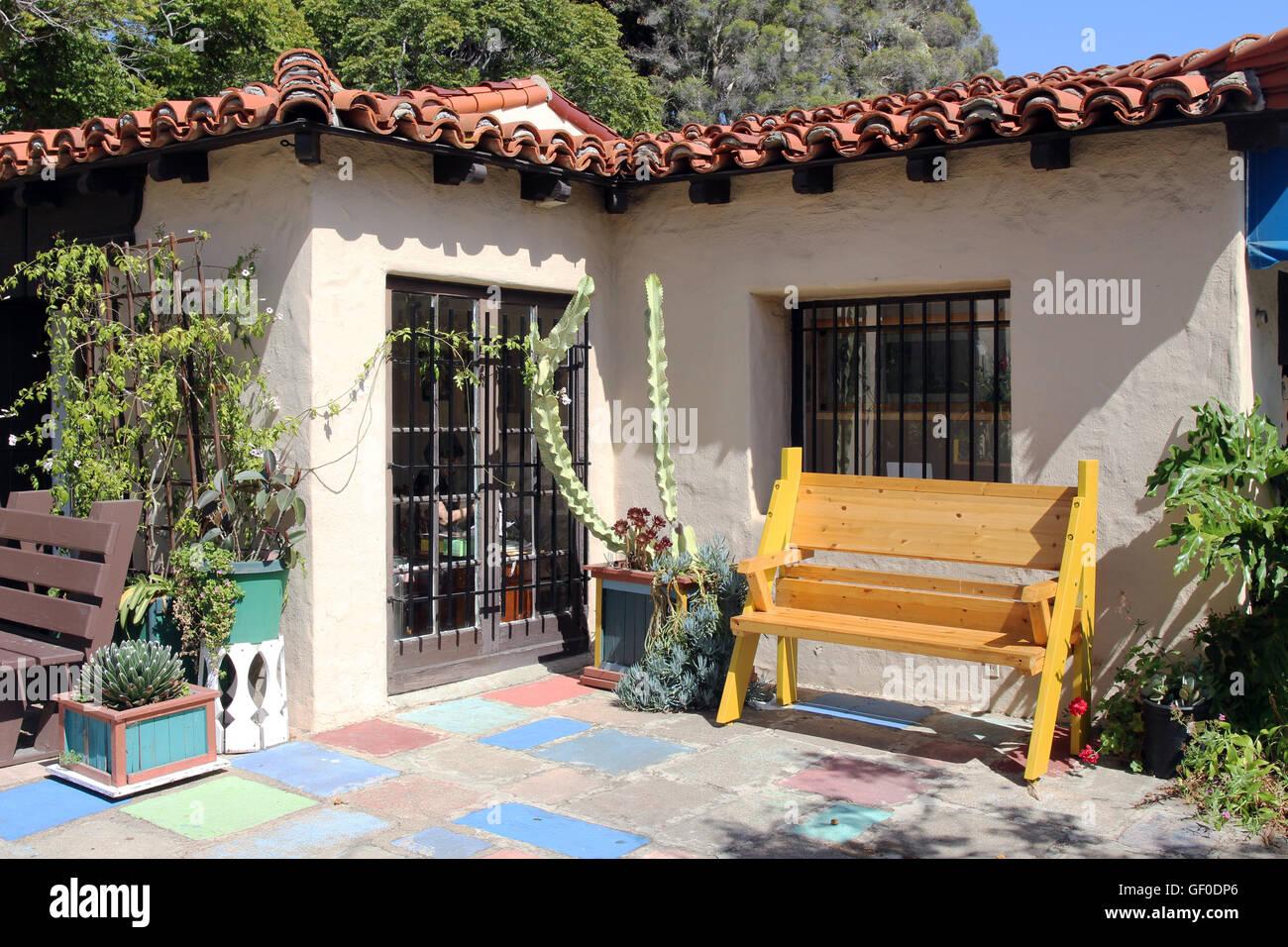 Stile messicano esterno della casa foto immagine stock for Esterno in latino