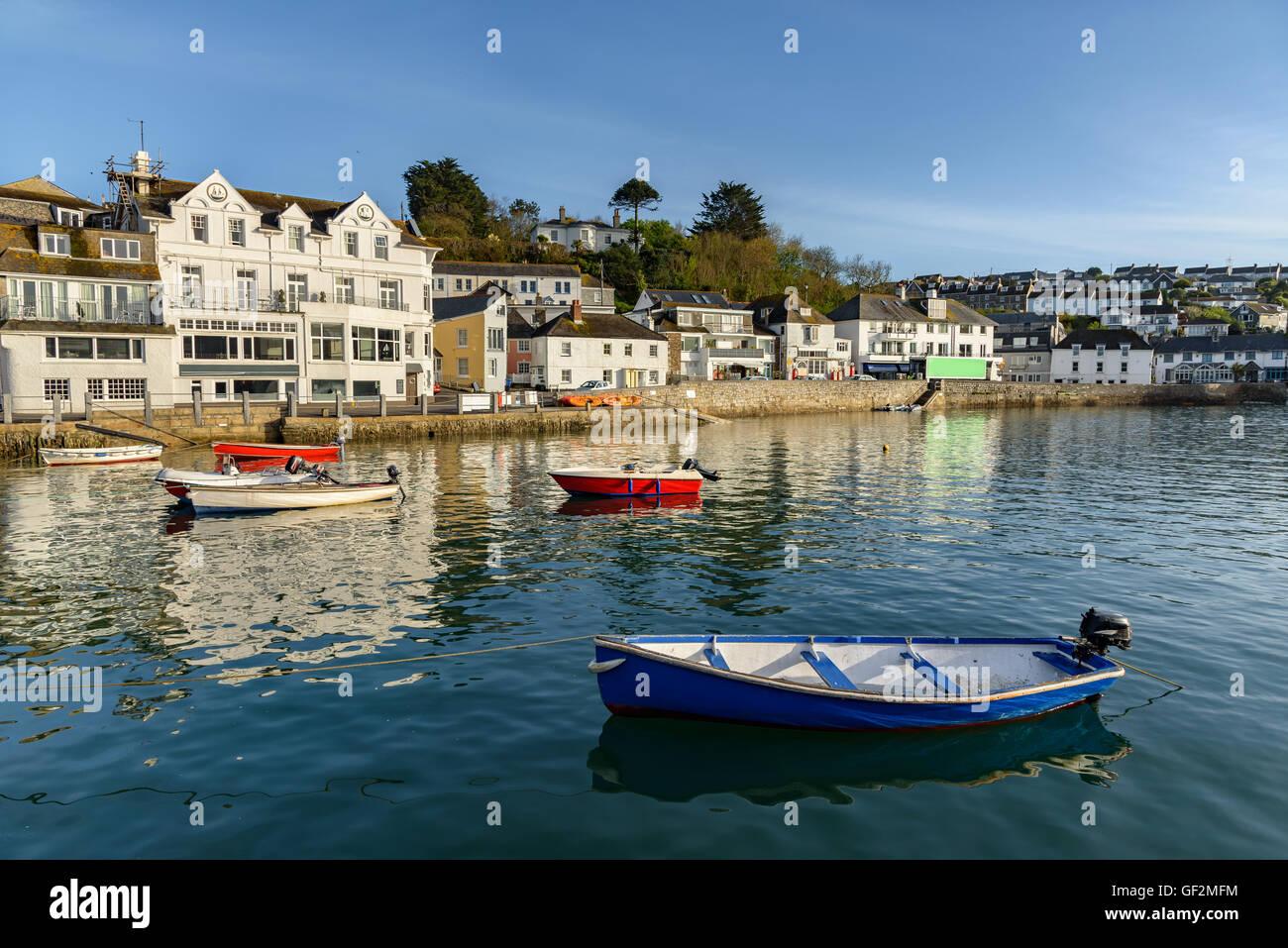 St Mawes è una piccola cittadina di fronte Falmouth, sulla penisola di Roseland sulla costa meridionale della Immagini Stock