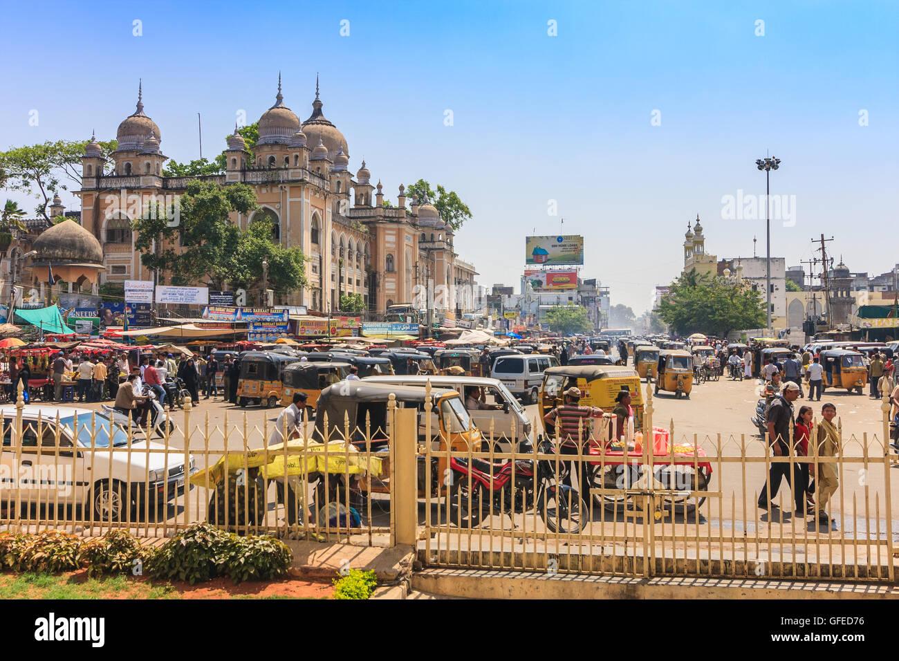 Hyderabad city centre, India Immagini Stock