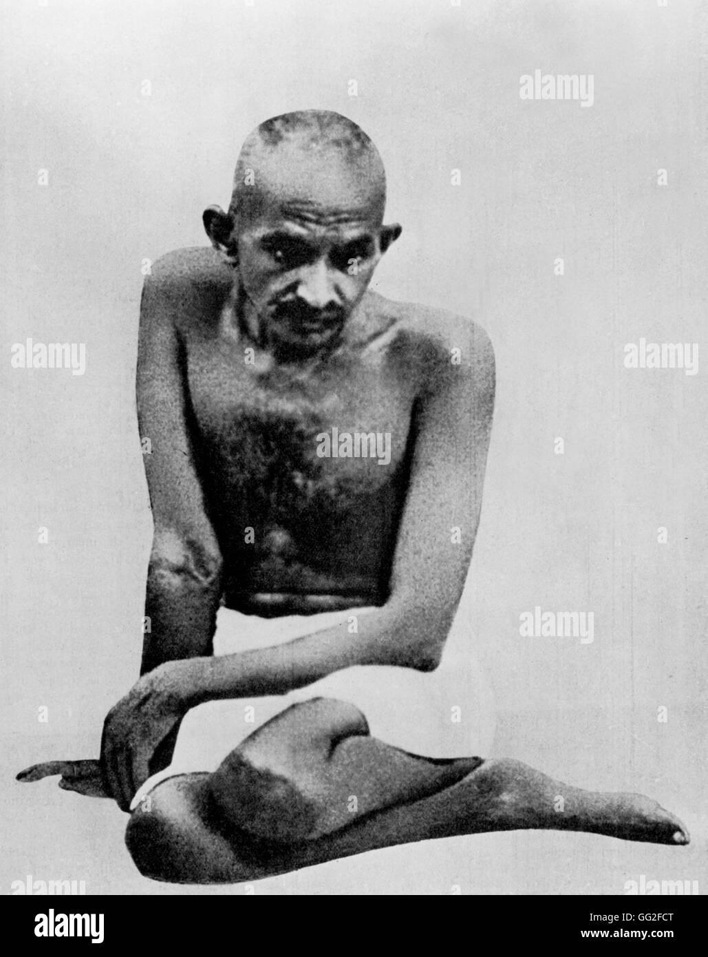 Il Mahatma Gandhi 1931 India Immagini Stock