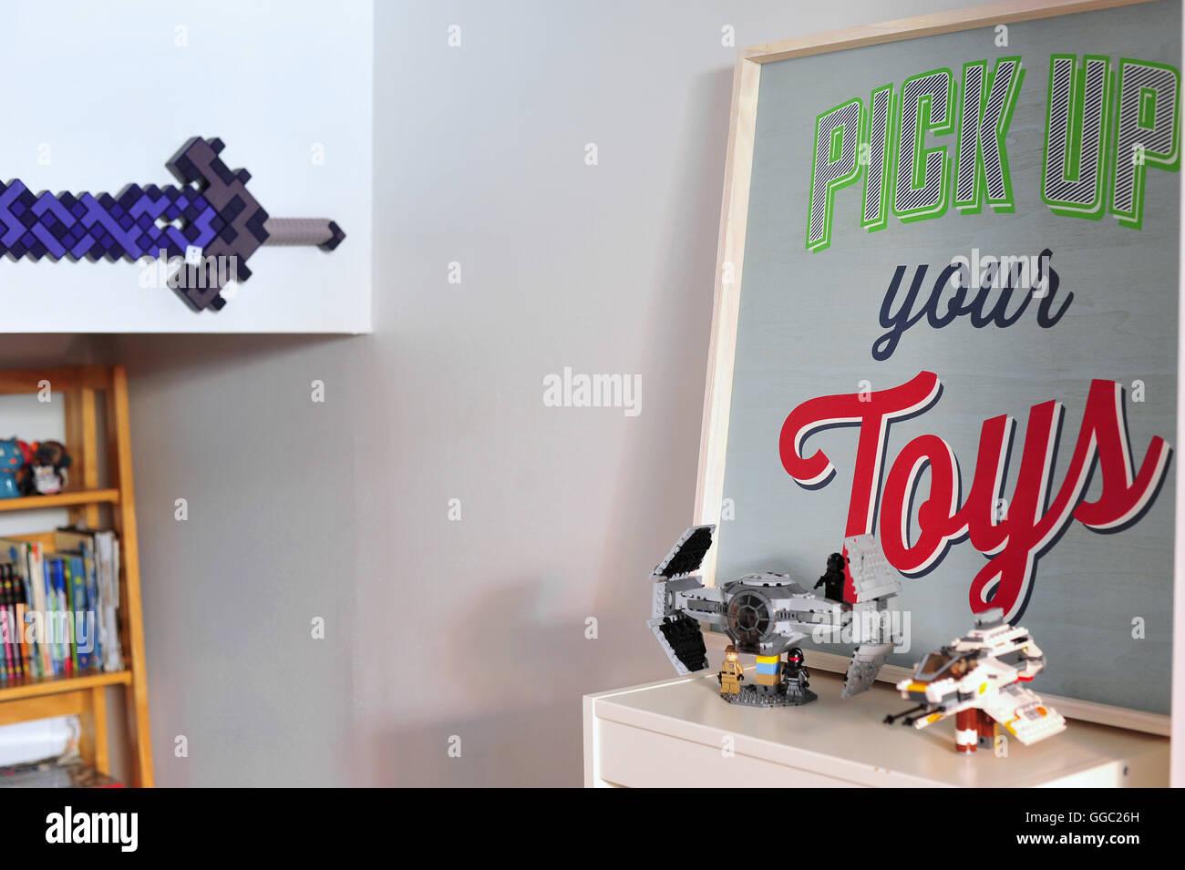 Camera Da Letto Star Wars : Star wars lego giocattoli del bambino in una camera da letto foto