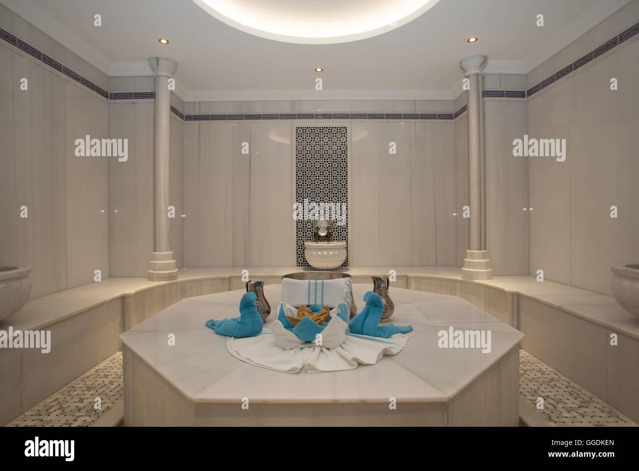 Interno del bagno turco hammam foto immagine stock