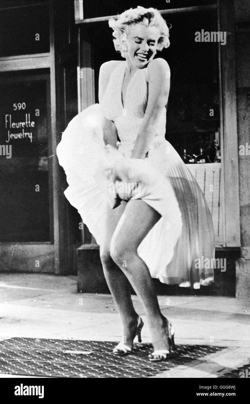 "DAS VERFLIXTE 7. JAHR / i sette anni di prurito USA 1955 / Billy Wilder MARILYN MONROE, ""i sette anni di Mitch"", Foto Stock"