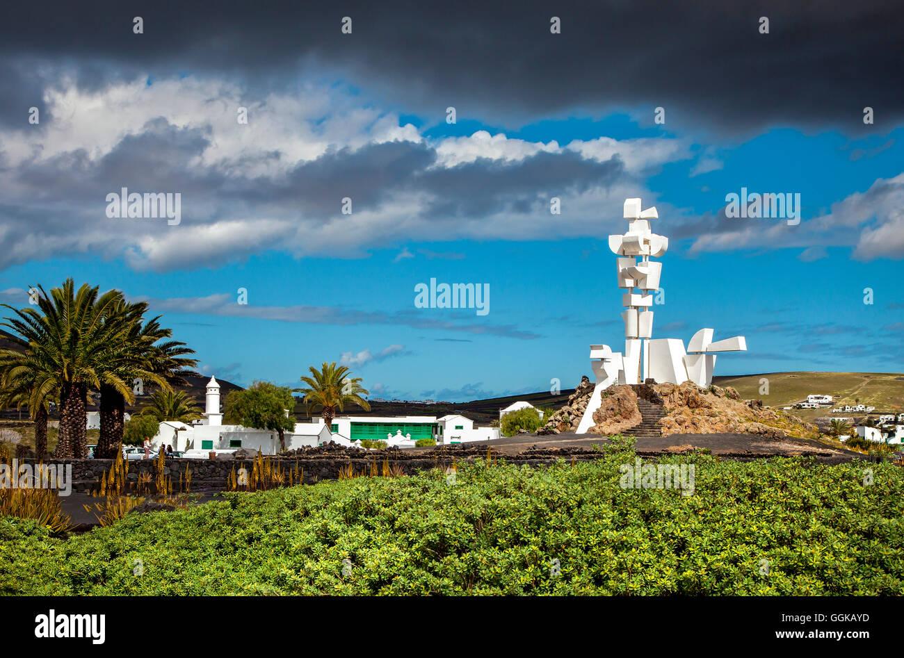Monumento al Campesino, Cesar Manrique, San Bartholome, Lanzarote, Isole Canarie, Spagna Immagini Stock