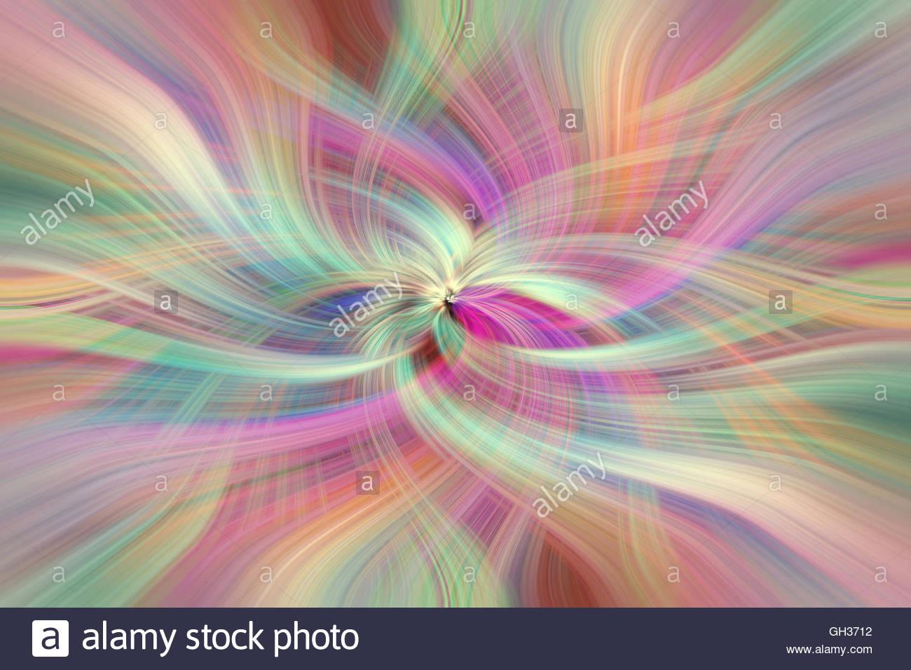 Arcobaleno colorato patters astratta orizzontale. Concetto di virtù Divina. I valori umani Immagini Stock