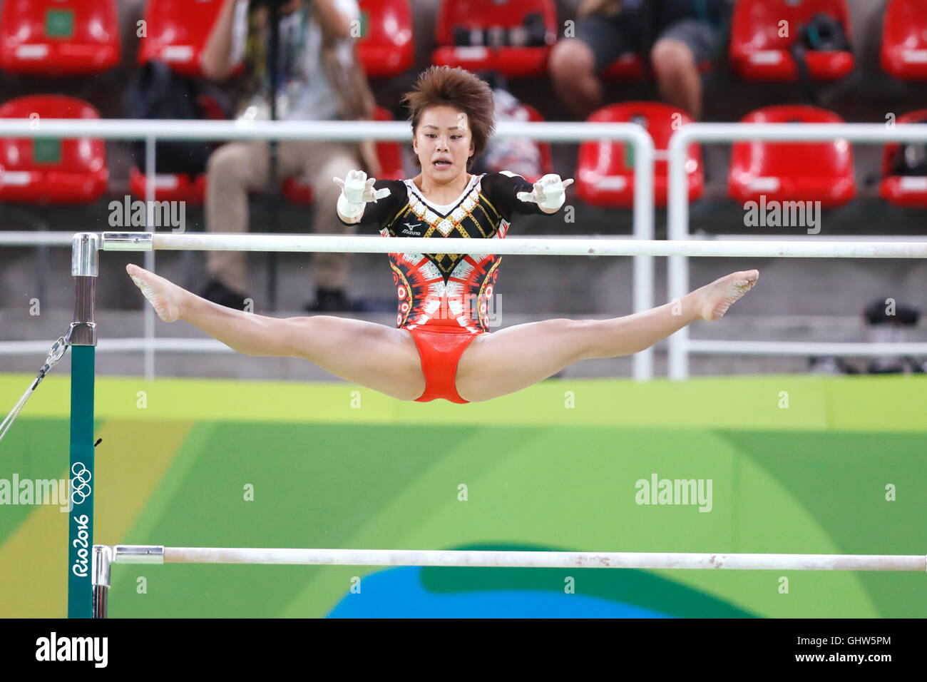 Rio de Janeiro, Brasile. 11 Ago, 2016. Ami Murakami (JPN) ginnastica artistica : Donne Individuale tutto attorno Immagini Stock