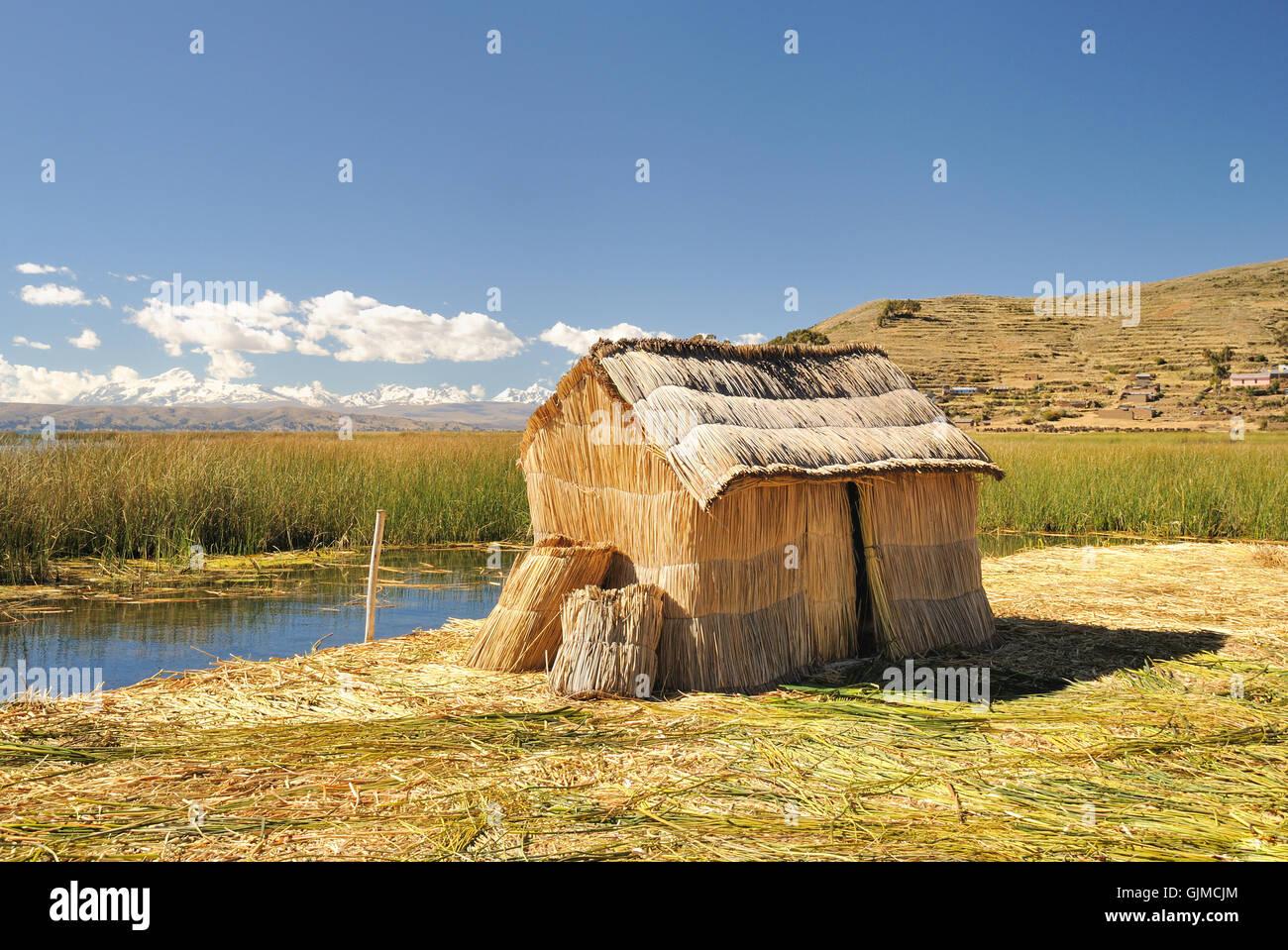 Isola di reed phuwa Immagini Stock