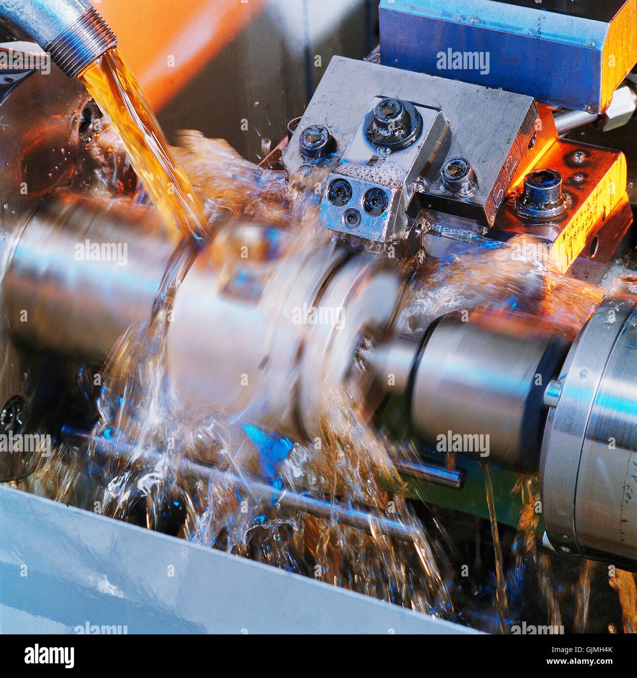 L'industria di fabbricazione di metalli Immagini Stock