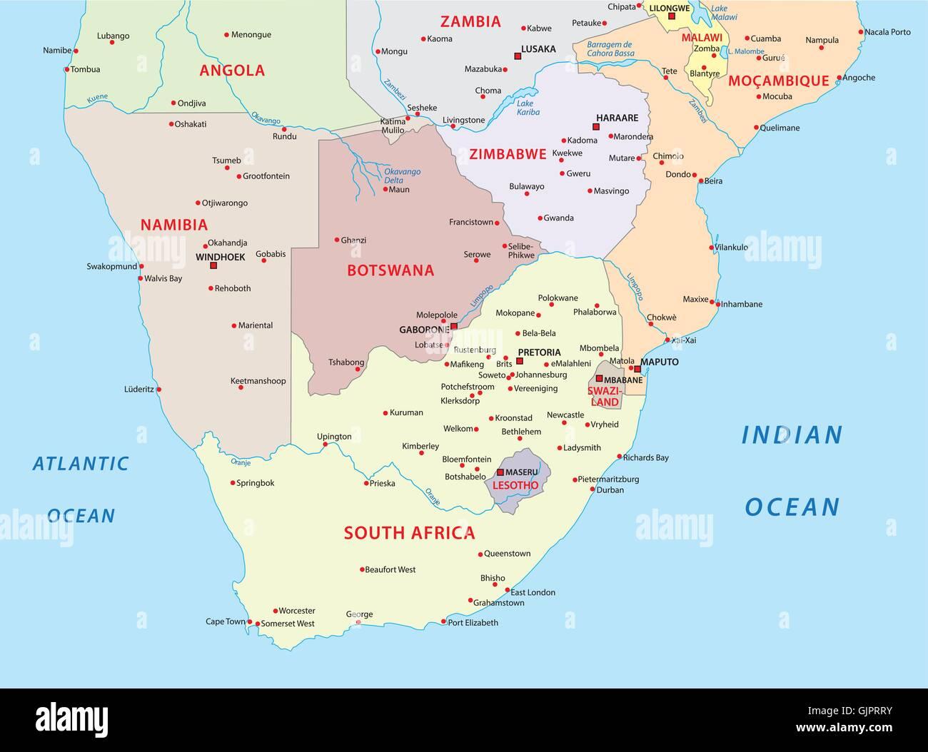 Mappa Stati Africa Wwwtollebildcom