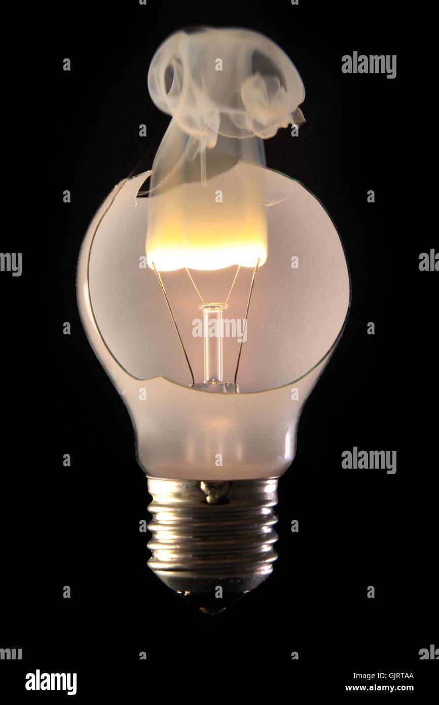 Energia elettrica di potenza Immagini Stock
